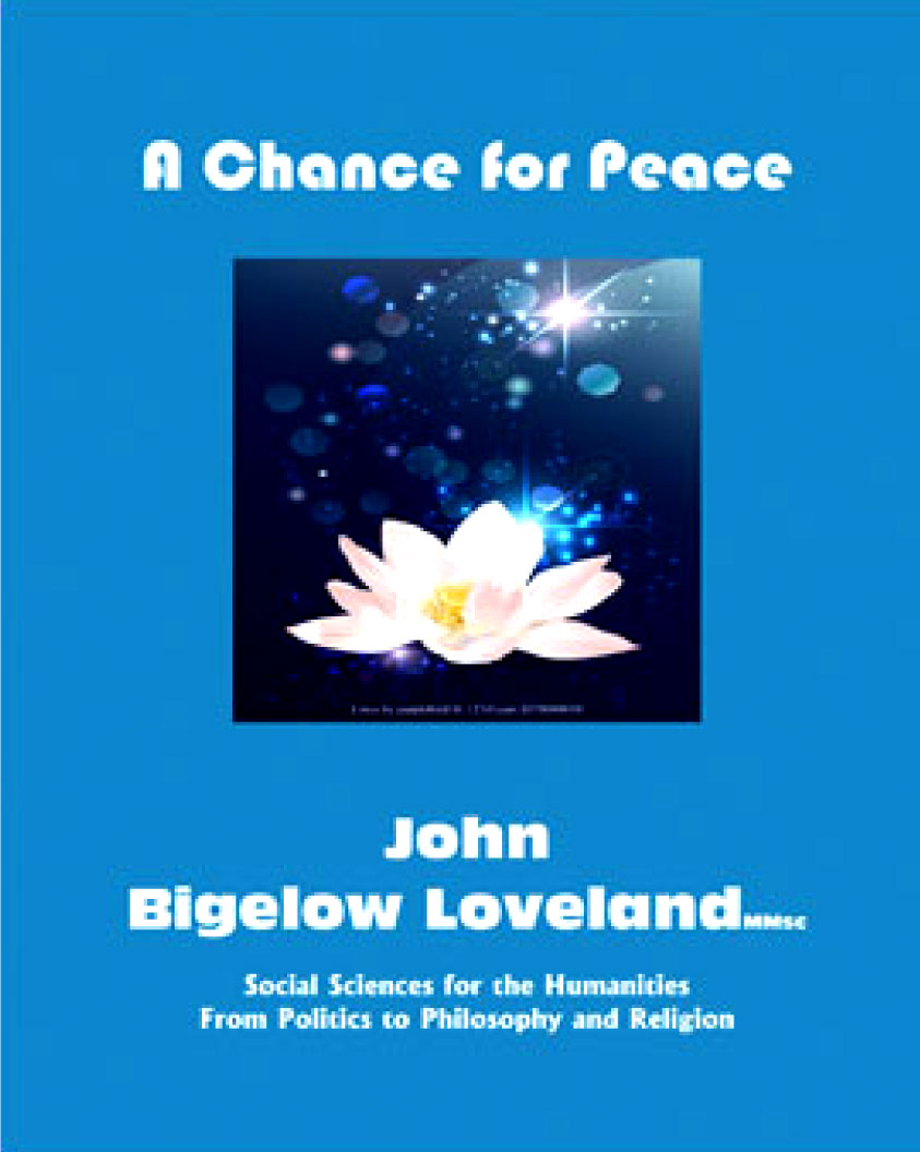 A Chance For Peace Book