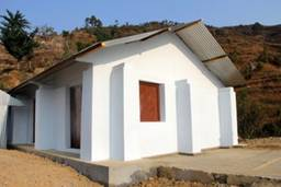 Nepal Safe House before picture