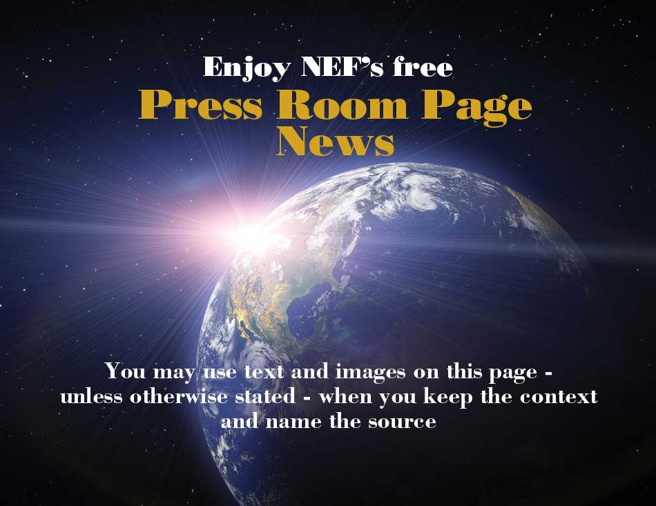 New Earth Foundation Press Room